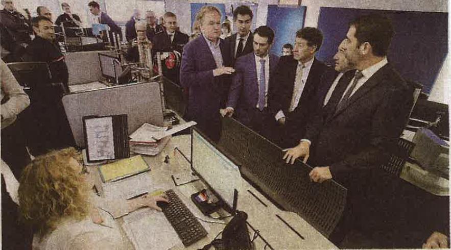 2019/11/08: Inauguration de la  Plateforme 3S par Monsieur le Ministre de l'Intérieur